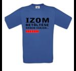 Izom Betöltése Egedi feliratos férfi póló