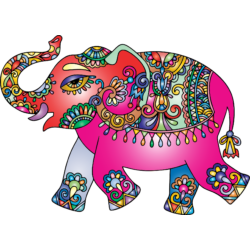 Színes elefánt