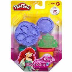 Play-Doh Disney Hercegnők Ariel ragyogó gyurmaszett-Hasbro
