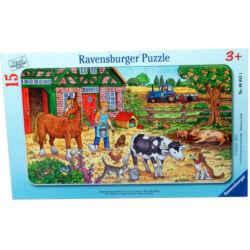 Fa puzzle 15db-Tanyasi élet