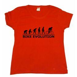Bike Evolution női rövid ujjú póló