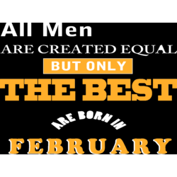 All Men are created...