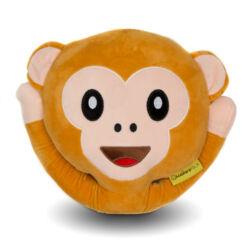 Majom Emoji párna 32cm