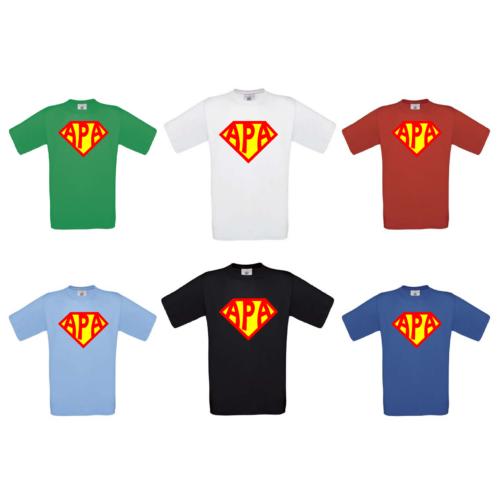 SUPER APA férfi póló