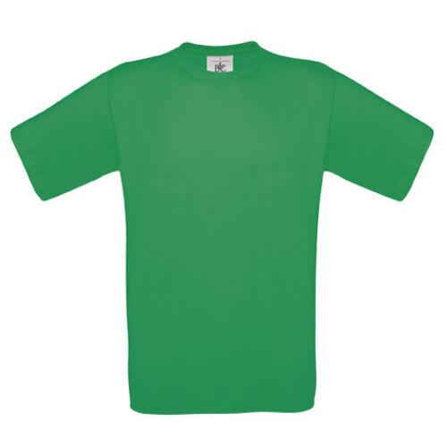 Kerek nyakú férfi pamut póló B&C