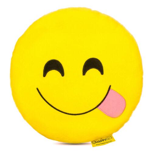 Nyelves Emoji párna 32cm