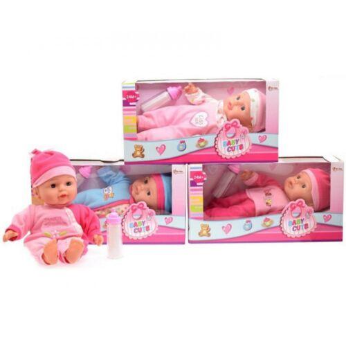 Baby Cute játék baba 30cm
